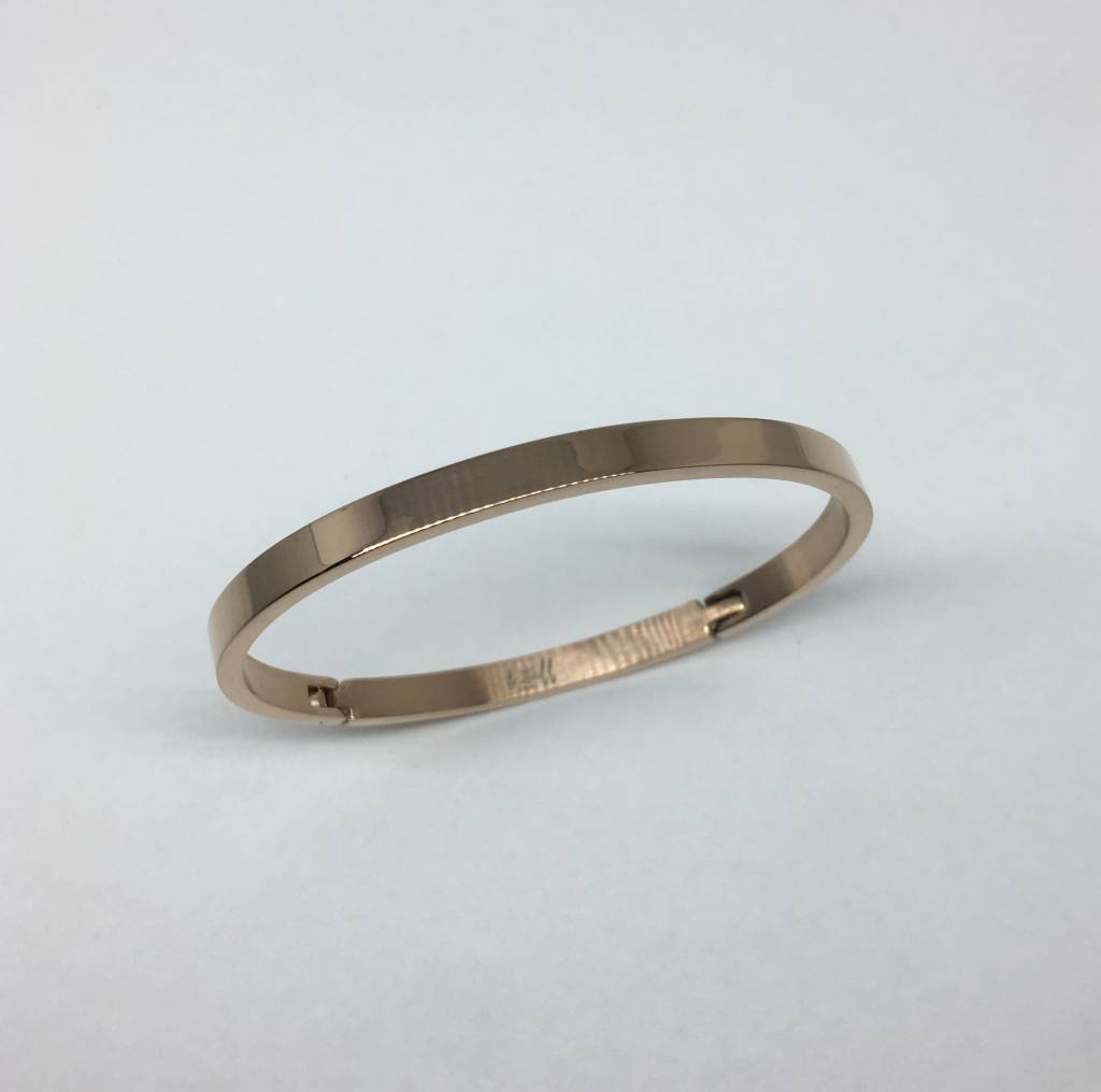 Plated Surgical Steel Bangle
