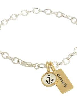 Heather Moore Strength Bracelet