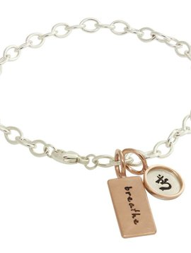 "Heather B. Moore Online ""Breathe"" Bracelet"