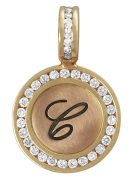 Heather B. Moore Online Diamond Initial Charm