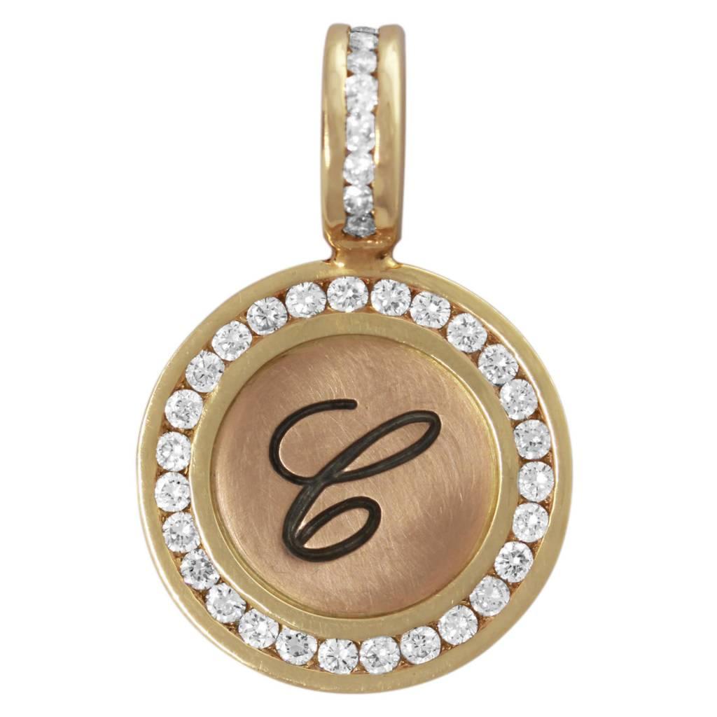 Heather B. Moore Online Diamond Initial Charm