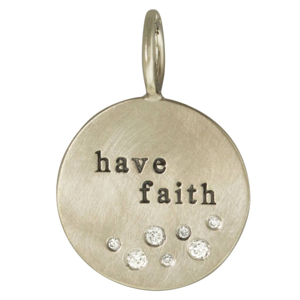 "Heather B. Moore Online ""Have Faith"" Charm"
