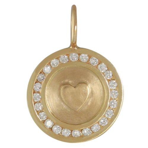 Heather B. Moore Online Diamond Heart Charm