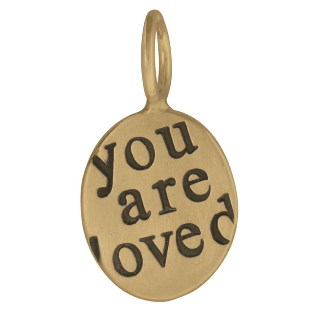"Heather B. Moore Online ""You are loved"" Charm"