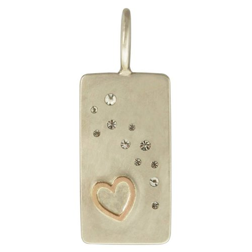 "Heather B. Moore Online ""At Last"" Scattered Diamond Charm"