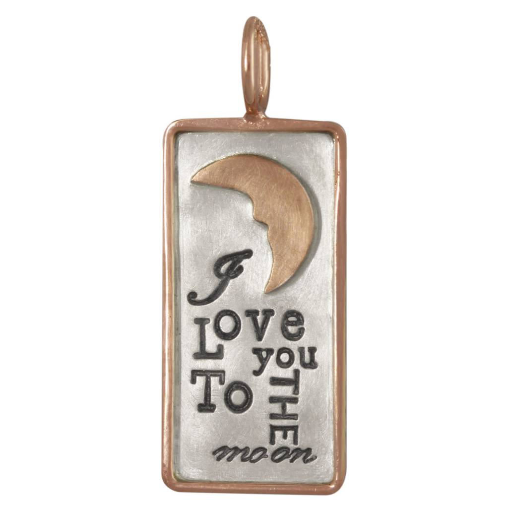 "Heather Moore ""To the moon"" Charm"