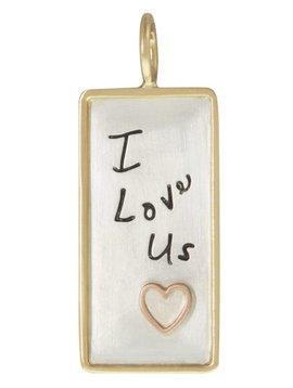 "Heather B. Moore Online ""I Love Us"" Charm"