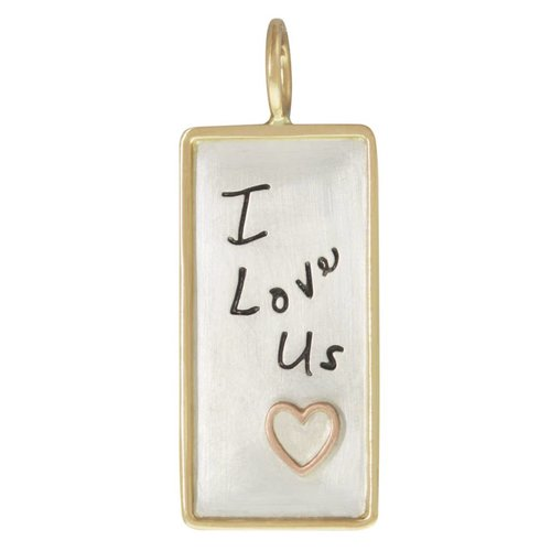 "Heather B. Moore Online ""I Love Us"" Charm"