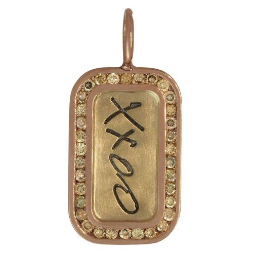"""Heather Moore """"XXOO"""" Charm"""
