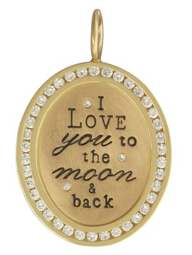 """Heather B. Moore Online """"To the moon . . ."""" Charm"""