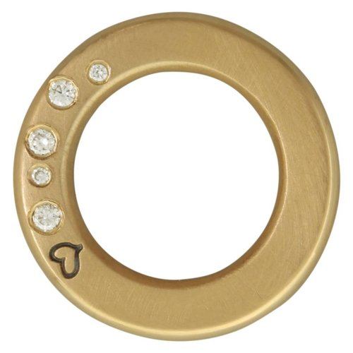 Heather Moore Thick Open Circle Charm