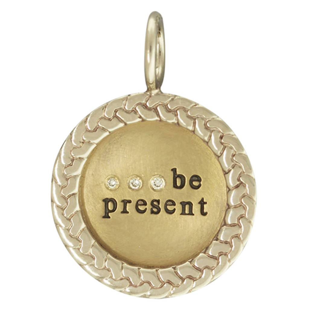 "Heather B. Moore Online ""Be Present"" Charm"