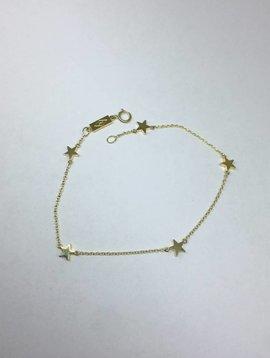 Jennifer Meyer Star By The Inch Gold Bracelet