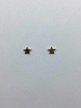 Jennifer Meyer Rose Gold Star Studs