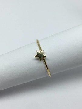 Jennifer Meyer Yellow Gold Star Ring