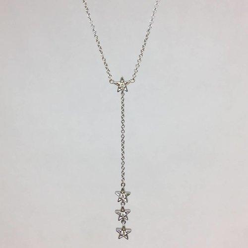 Jennifer Meyer White Gold and Diamond Star Lariat