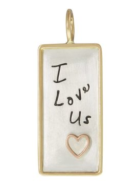 "Heather Moore ""I Love Us"" Charm"