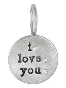 "Heather Moore ""I Love You"" Charm"