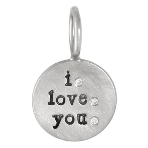 "Heather Moore ""I Love You"" Charm"