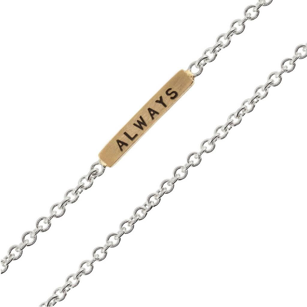 "Heather B. Moore Online ""Love/Always"" Necklace"