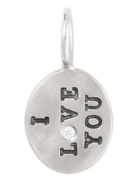 "Heather B. Moore Online ""I Love You"" Charm"