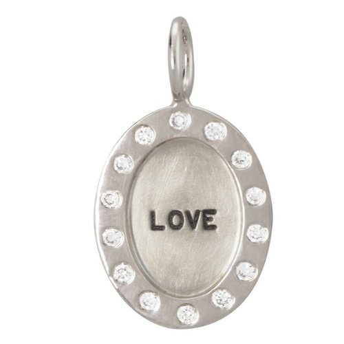 "Heather Moore ""Love"" Charm"