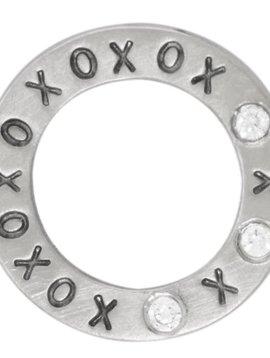 """Heather Moore """"XOXO"""" Eternity Charm"""