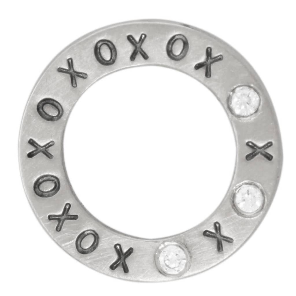 "Heather Moore ""XOXO"" Eternity Charm"