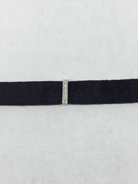La Soula Navy Bar Choker
