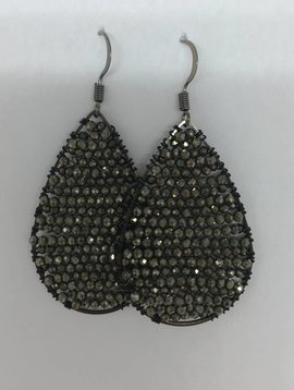 Pyrite Posh Earrings