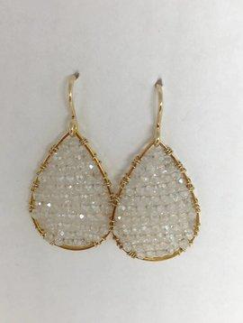 Moonstone Mini Posh Earrings