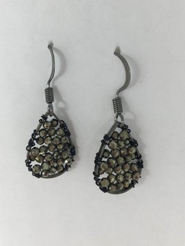 Pyrite Micro Posh Earrings