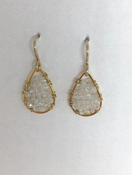 Moonstone Micro Posh Earrings