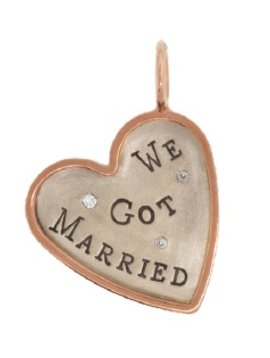 "Heather Moore ""We Got Married"" Charm"