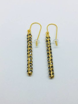 Rebel Design Swarovski Crystal 360 Drop Earrings