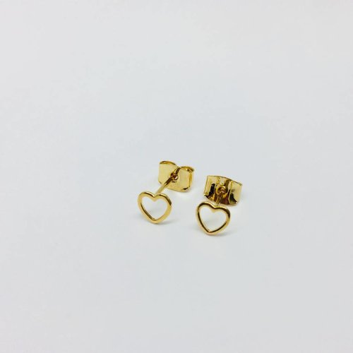 Tai Open Heart Studs