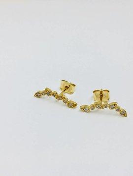 Tai Gold Teardrop Crawlers