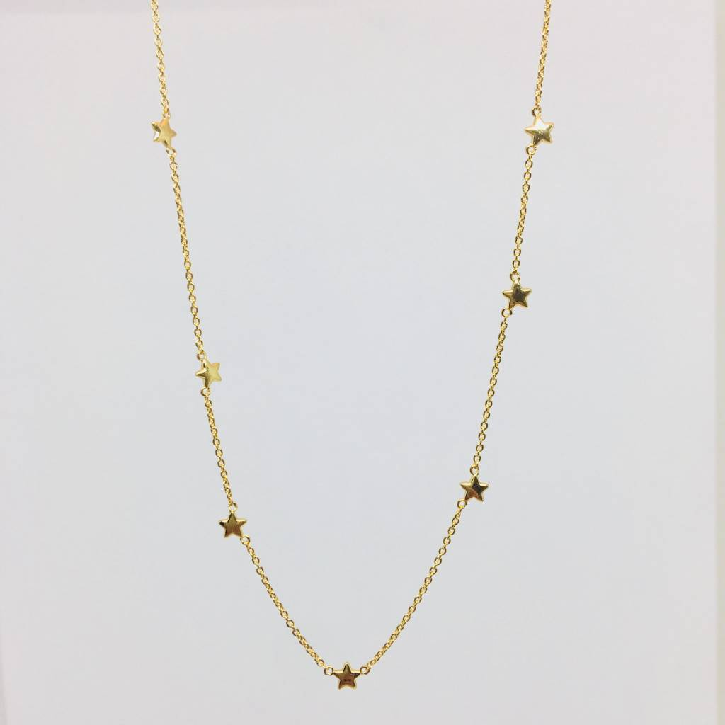 Tai Gold Star Necklace