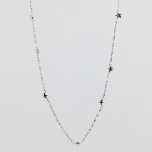 Tai Silver Star Necklace