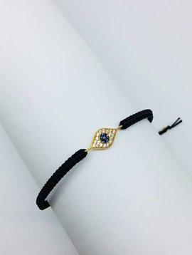 Tai Black Evil Eye Bracelet