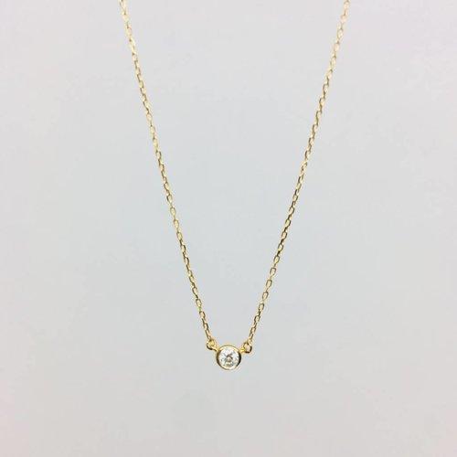 Adina Reyter Single Diamond Necklace