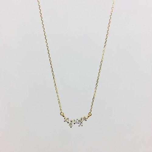Adina Reyter Scattered Diamond Necklace