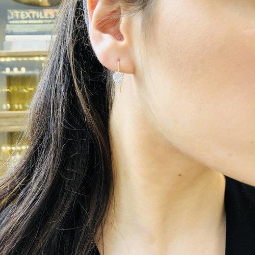 Adina Reyter Teardrop Diamond Earrings