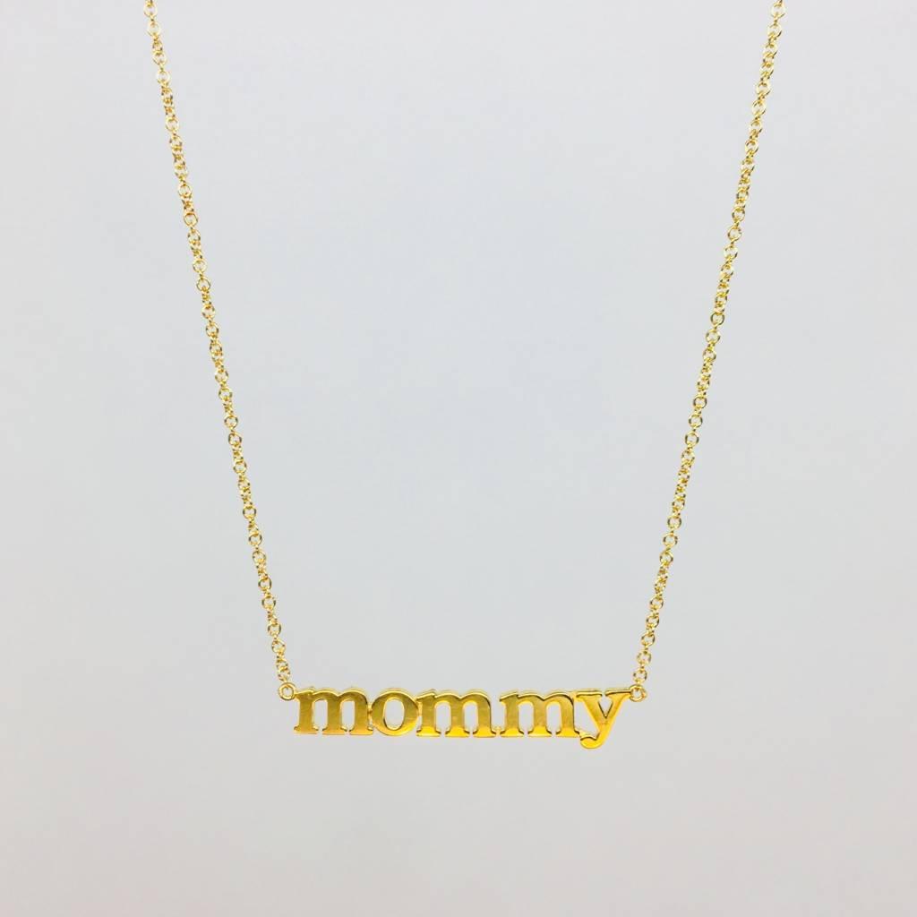 Jennifer Meyer Jennifer Meyer 18k Mommy Necklace