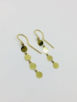 Jennifer Meyer Jennifer Meyer 18k Disc Drop Earrings