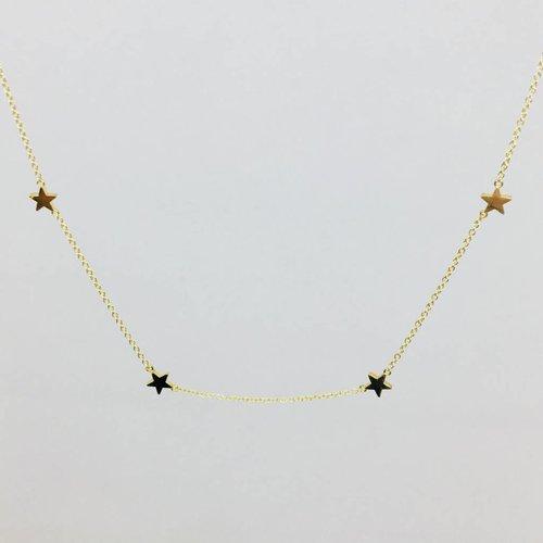 Jennifer Meyer Jennifer Meyer 18k Star By The Inch Necklace