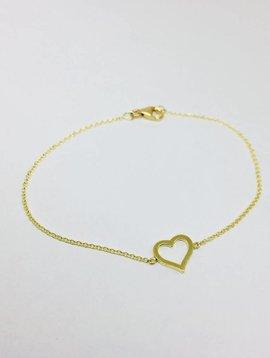 Jennifer Meyer Jennifer Meyer 18k Open Heart Bracelet