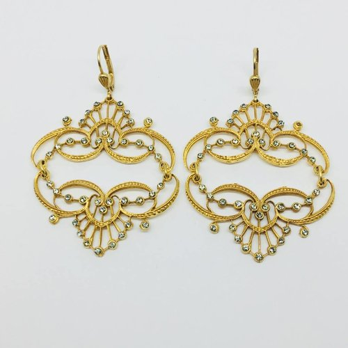 La Vie Parisienne Chandelier Earrings