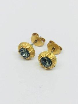 La Vie Parisienne Crystal Stud Earrings