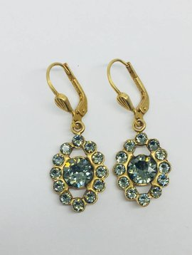 La Vie Parisienne Pyrite Drop Earrings